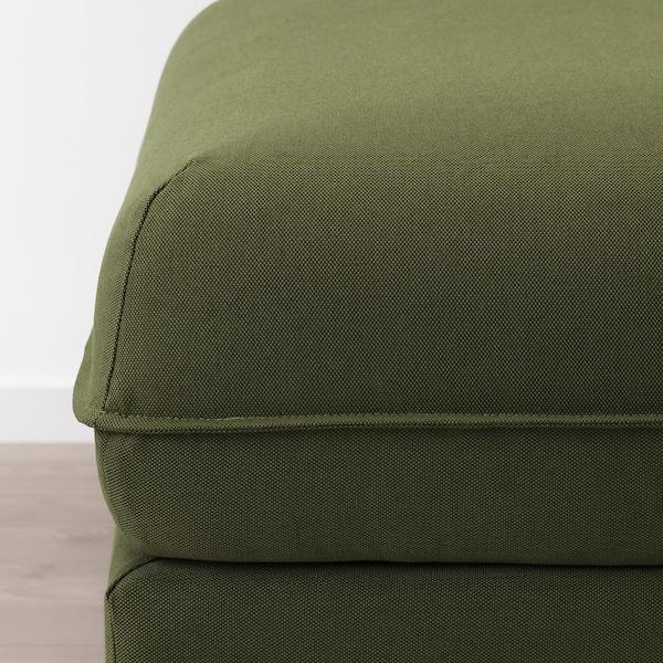 VALLENTUNA módulo asiento Orrsta verde oliva 100 cm 80 cm 45 cm