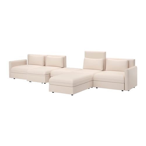 Vallentuna sof cama 5 plazas murum beige ikea for Sofa cama 4 plazas