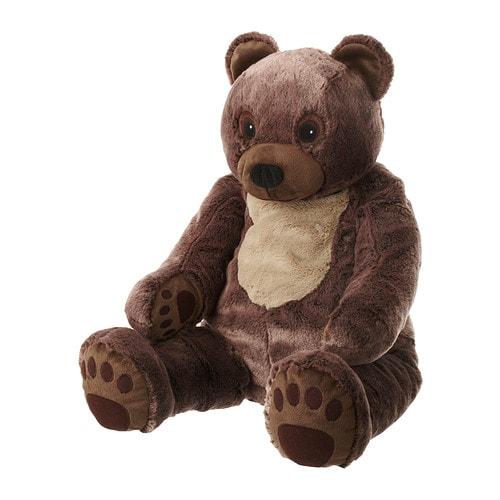 VANDRING BJÖRN Peluche IKEA Peluche intemporal que estimula la imaginación de tu hijo y su amor por la naturaleza.