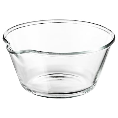 VARDAGEN Cuenco, vidrio incoloro, 26 cm