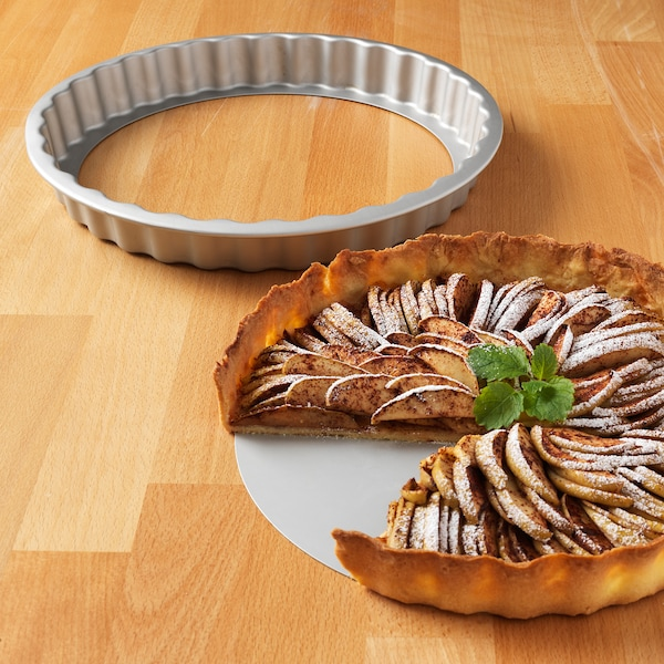 VARDAGEN Molde tarta, gris plata, 31 cm/1.8 l