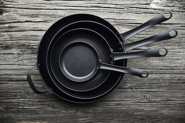 VARDAGEN Sartén, acero al carbón, 13 cm