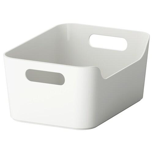 VARIERA caja gris 24 cm 17 cm