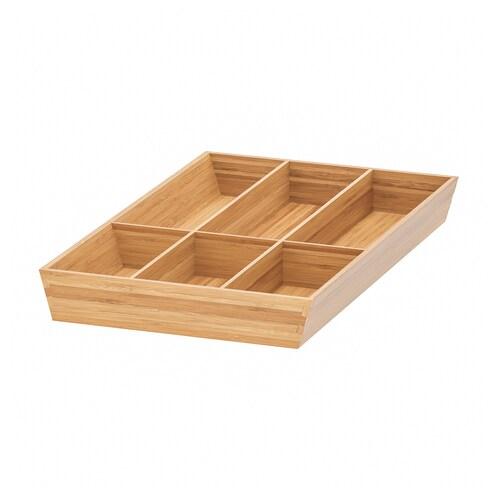 VARIERA bandeja para cubiertos bambú 32.0 cm 40 cm 50 cm 5.4 cm