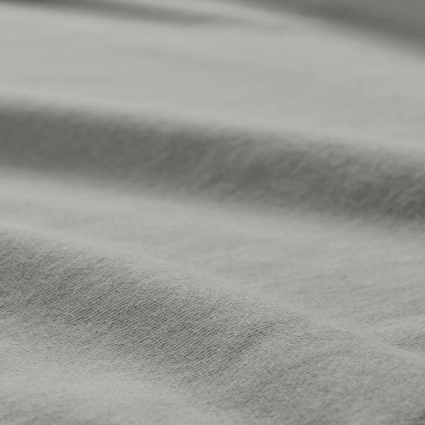 VÅRVIAL Sábana bajera ajustable, gris claro, 180x200 cm