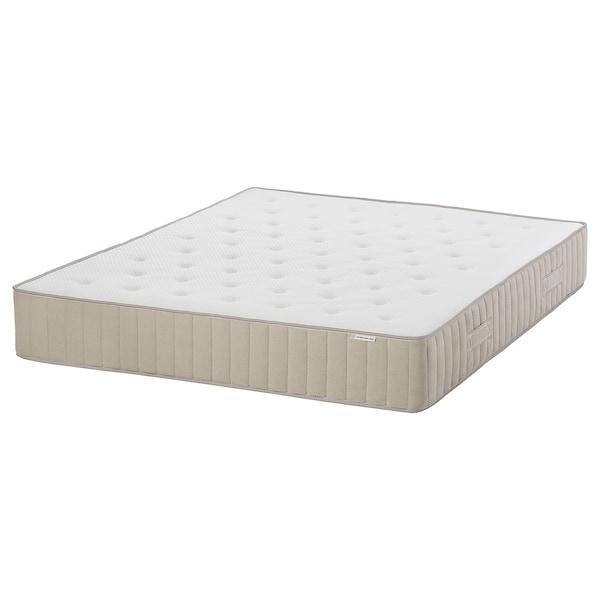 VATNESTRÖM Colchón de muelles embolsados, firme/natural, 180x200 cm