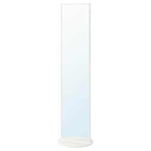 VENNESLA espejo de pie blanco 45 cm 177.6 cm 45 cm