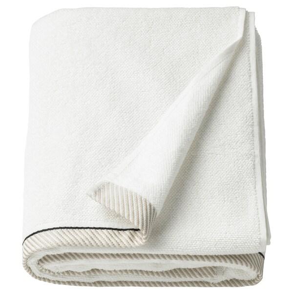 VIKFJÄRD Toalla de baño, blanco, 100x150 cm