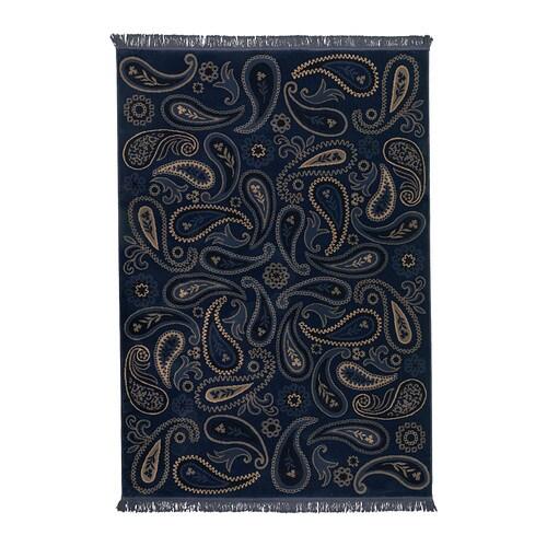 Vilsund alfombra pelo corto ikea for Ikea alfombra azul