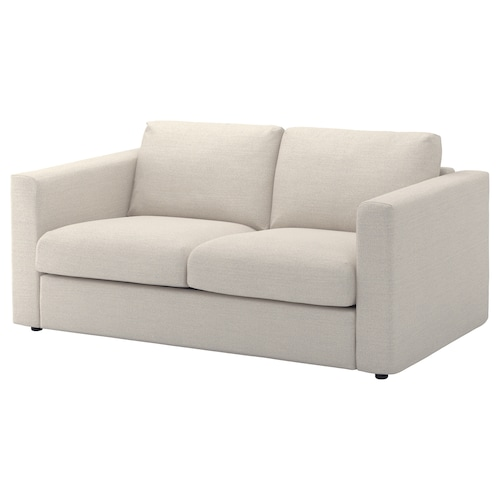 VIMLE sofá 2 plazas Gunnared beige 83 cm 68 cm 171 cm 98 cm 6 cm 15 cm 141 cm 55 cm 48 cm