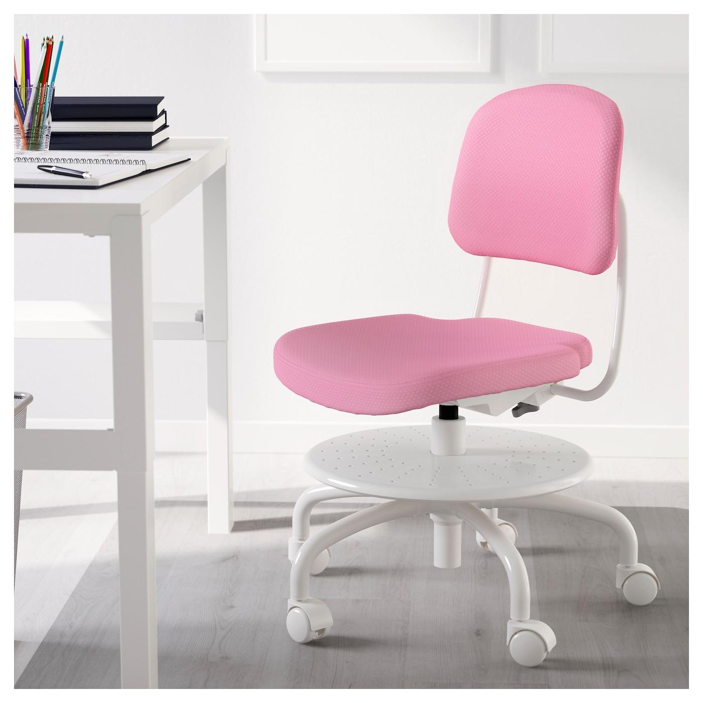Vimund silla escritorio ni o rosa ikea - Silla ergonomica ikea ...
