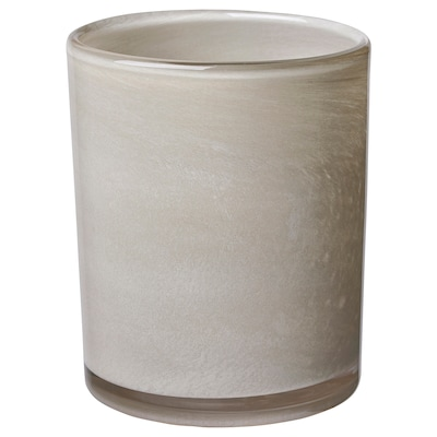 VINDSTILLA Portavela, beige oscuro, 15 cm