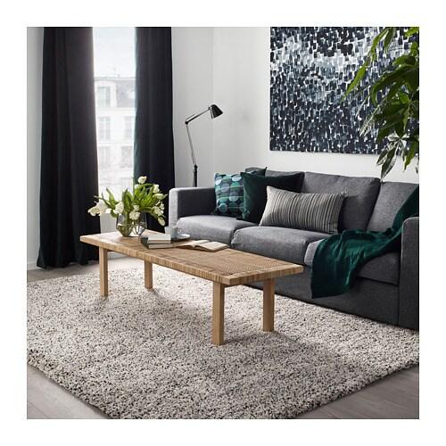 Vindum Alfombra Pelo Largo Blanco 200 X 270 Cm Ikea