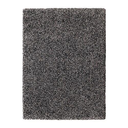 Vindum alfombra pelo largo gris oscuro 133 x 180 cm ikea - Alfombra gris ikea ...