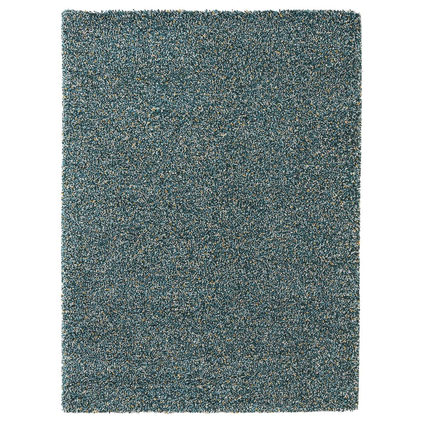 Vindum alfombra pelo largo verde azulado 170 x 230 cm ikea - Alfombra verde ikea ...