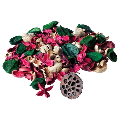 VINTER 2020 Flores secas (popurrí), perfumado/canela rojo/verde