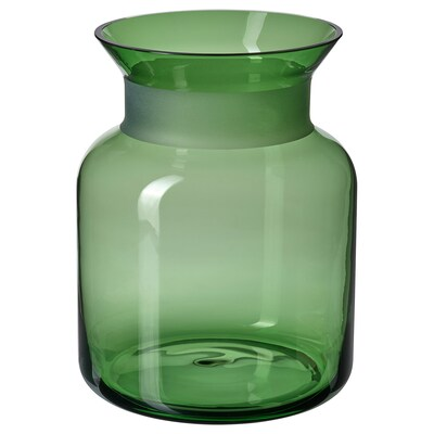 VINTER 2021 Florero / jarrón, verde, 20 cm