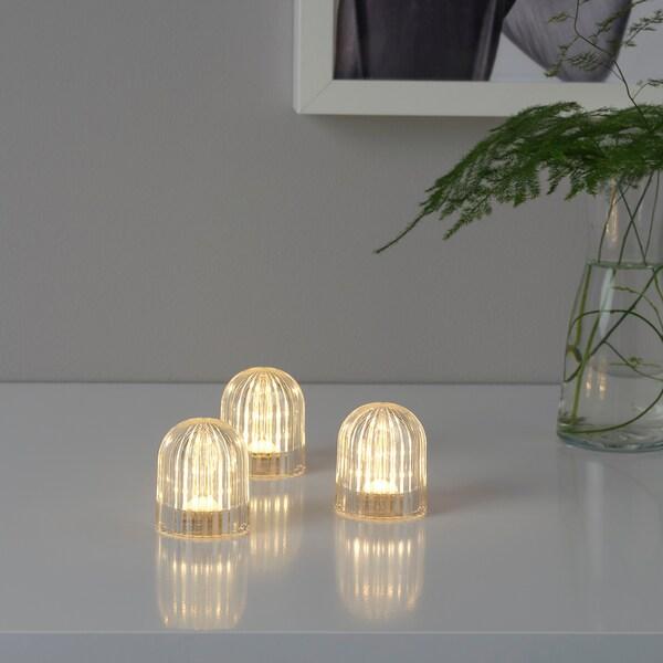 a VINTERFEST pilastransparente decorativa LED Iluminación 4qc5AjL3R
