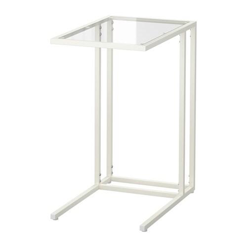 Vittsj soporte port til blanco vidrio ikea for Mesillas ikea precios