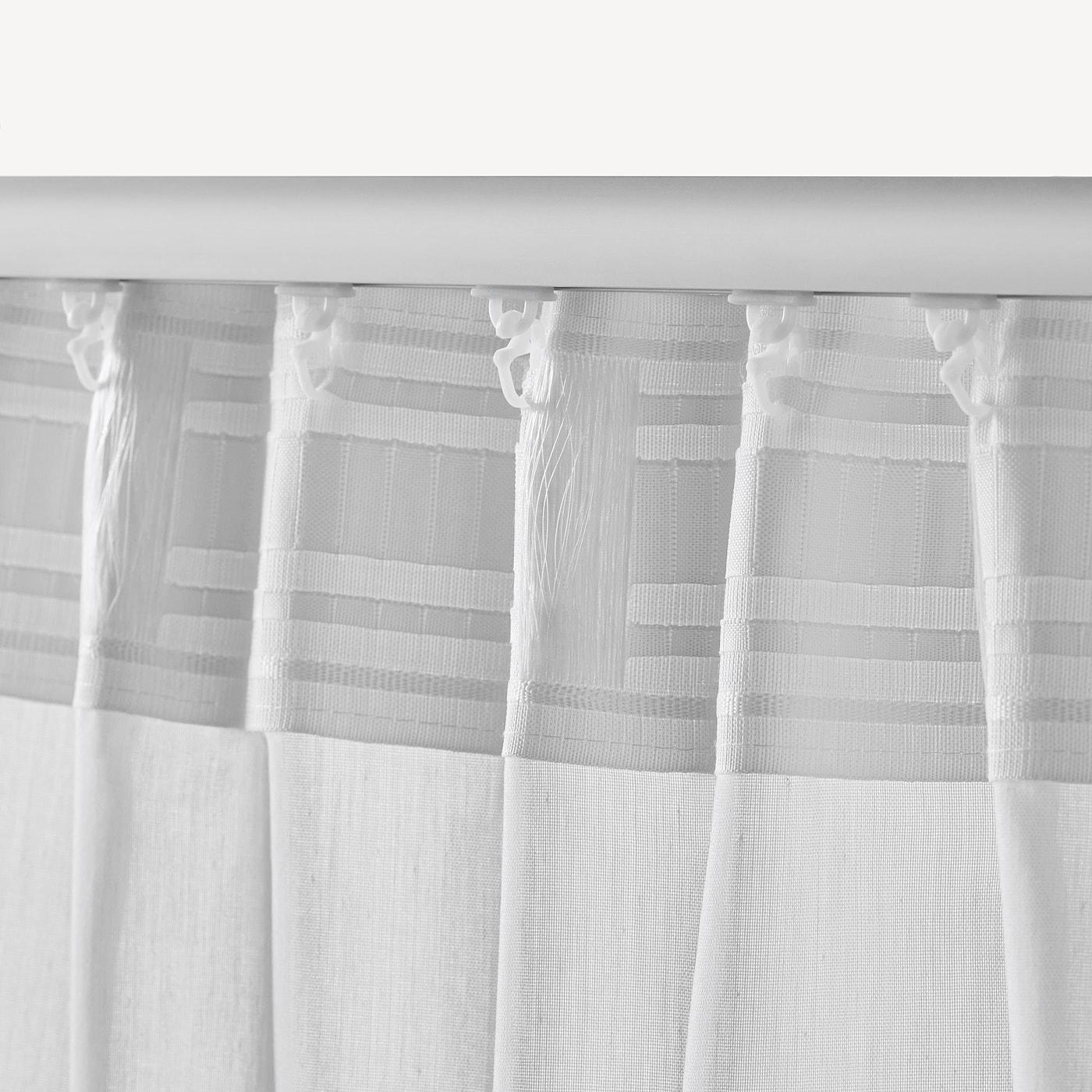 VIVAN Cortina, 1par, blanco IKEA