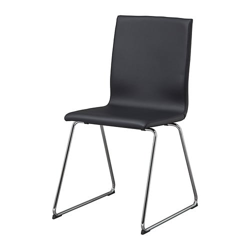 VOLFGANG  - Chair chrome-plated/Idhult black