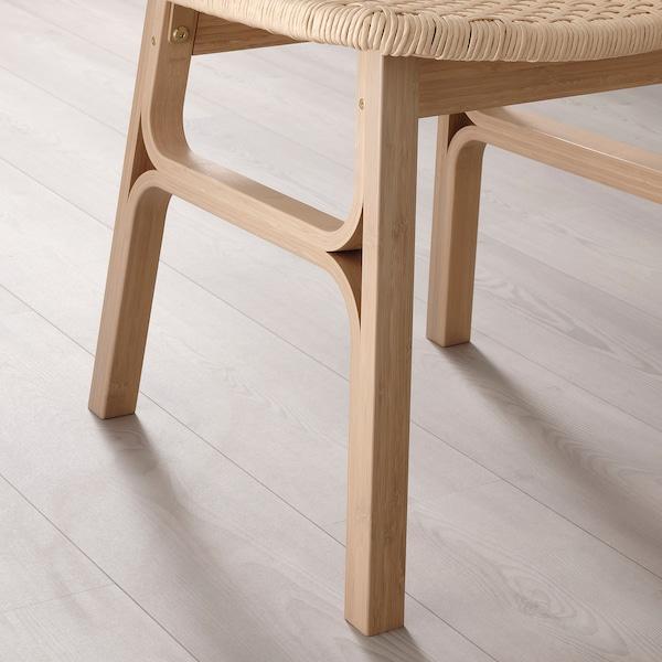 VOXLÖV Silla, bambú claro