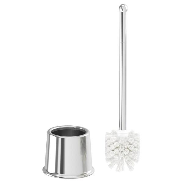 VOXNAN Escobilla de bañoWC, efecto cromado IKEA