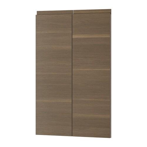Voxtorp puerta armario bajo esquina 2 uds zurdo efecto - Armarios de esquina ikea ...