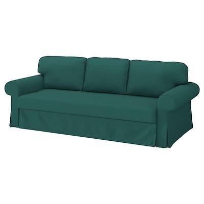 VRETSTORP Funda sofá cama 3, Totebo turquesa oscuro