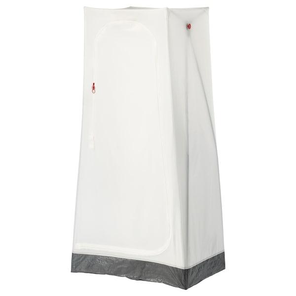 VUKU Armario, blanco, 74x51x149 cm