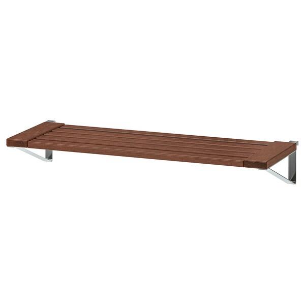 ÄPPLARÖ Kanp hormako panelerako apala, tindu marroia, 68x27 cm