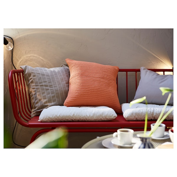 BRUSEN kanporako 3 eserlekuko sofa gorria