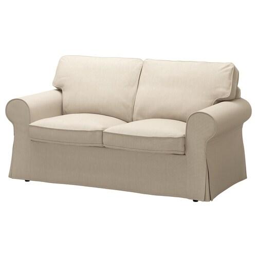 EKTORP 2 eserlekuko sofa Nordvalla beix iluna