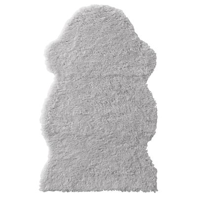 FÅRDRUP Alfonbra, grisa, 60x100 cm