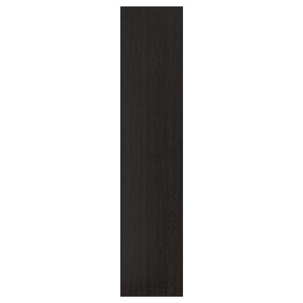 FORSAND Atea, lizar-efektua tindu beltza-marroia, 50x229 cm
