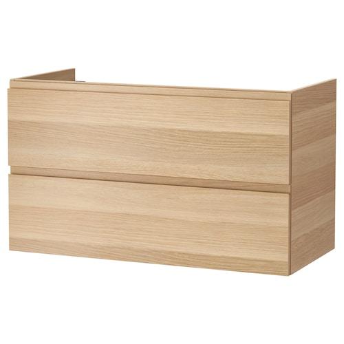 IKEA GODMORGON 2 tiraderadun konketa-armairua