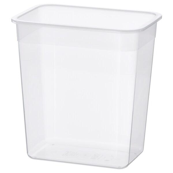 IKEA 365+ Edukiontzia, angeluzuzena/plastikoa, 4.2 l
