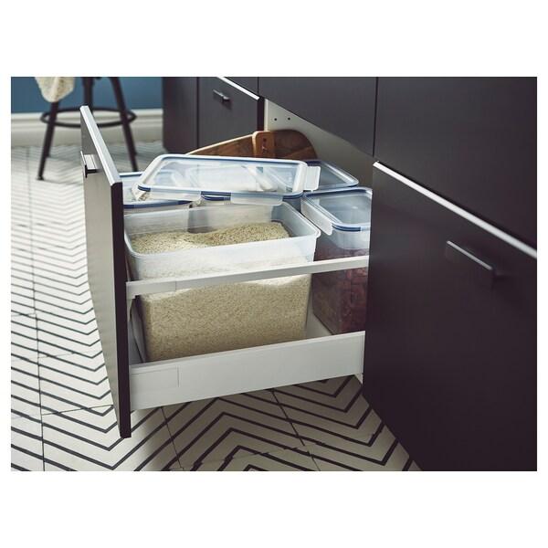 IKEA 365+ Edukiontzia, handia angeluzuzena/plastikoa, 10.6 l