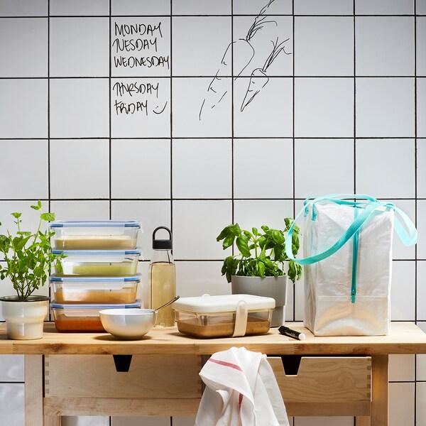IKEA 365+ Janaria gordetzeko sorta 2