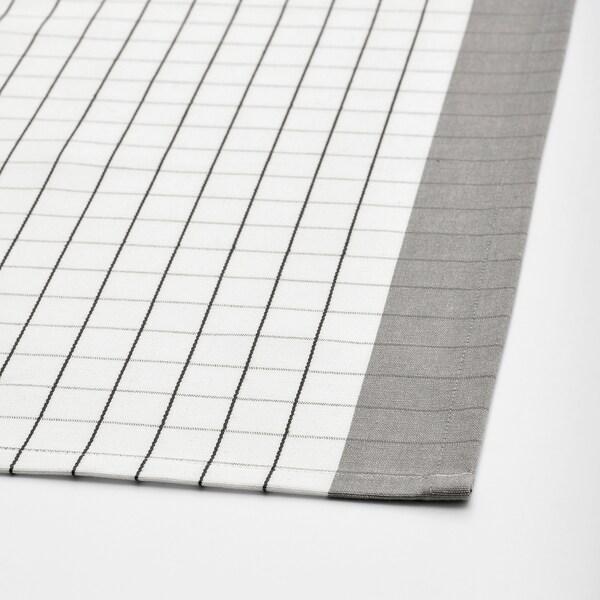 IKEA 365+ Mahai-zapia, zuria/grisa, 145x145 cm