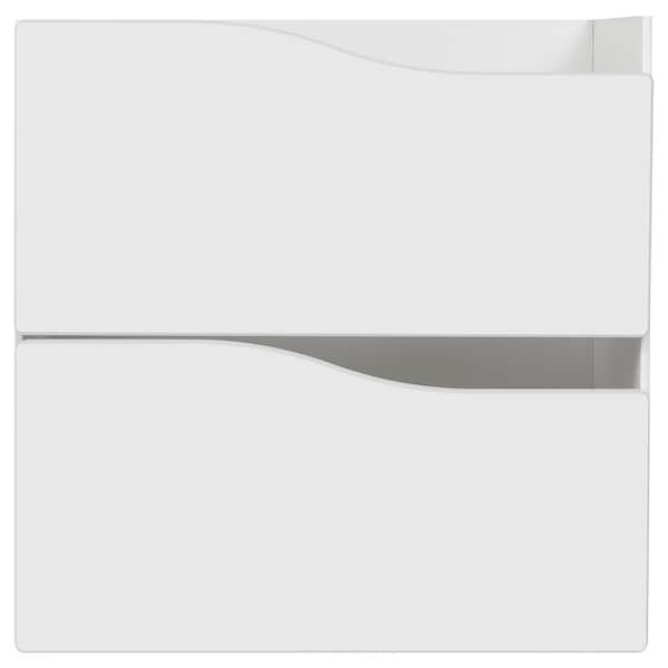 KALLAX 2 tiraderadun osagarria, zuria, 33x33 cm
