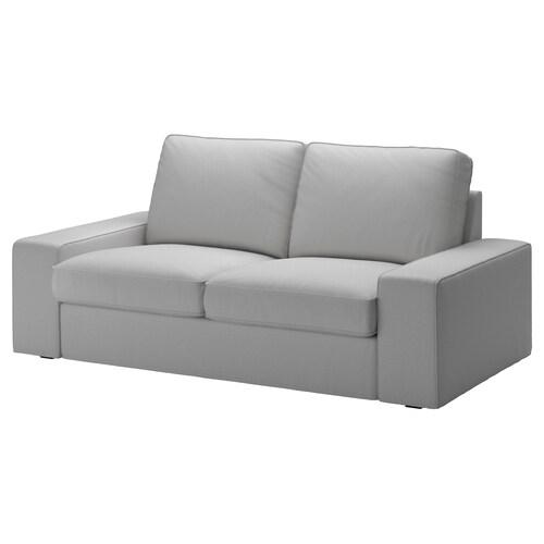 KIVIK 2 eserlekuko sofa Orrsta argiguneargigrisa