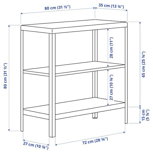 KOLBJÖRN Barr/kanp apalategia, beixa, 80x81 cm