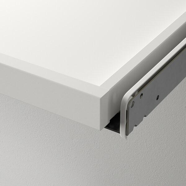 KOMPLEMENT Erretilu ateragarria, zuria, 100x35 cm