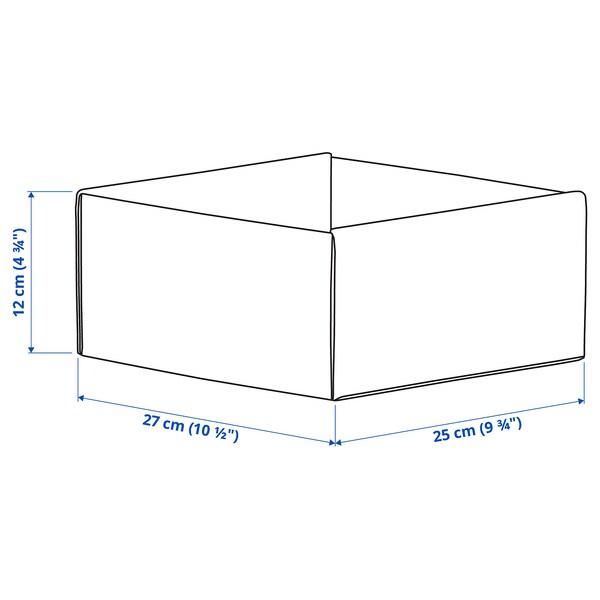 KOMPLEMENT Kaxa, argiguneargigrisa, 25x27x12 cm