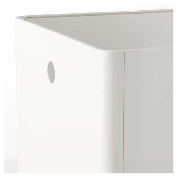 KUGGIS Kaxa, zuria, 30x30x30 cm