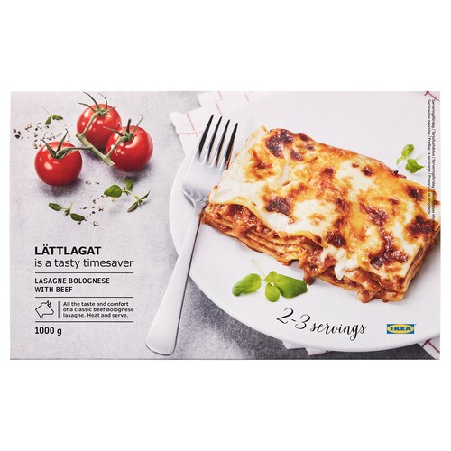 LÄTTLAGAT lasagna boloniarra behia
