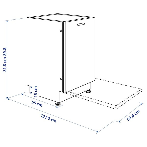 LAGAN Ontzi-garbigailu integratua, 60 cm