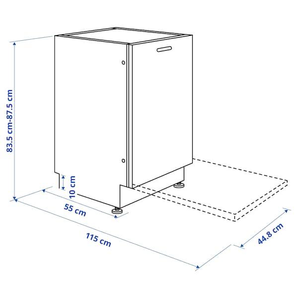 LAGAN Ontzi-garbigailu integratua, 45 cm