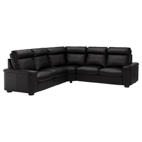 LIDHULT izkinako 5 eserlekuko sofa Grann/Bomstad beltza 102 cm 76 cm 7 cm
